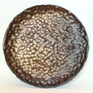 Gold Hammered Side Plate