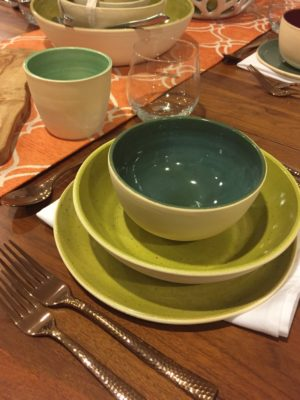 Iu0027ve been using a lot of these colors in the Mid Century dinnerware set. & Dinnerware Archives u2014 Bungalow Potter | craftsman pottery for ...